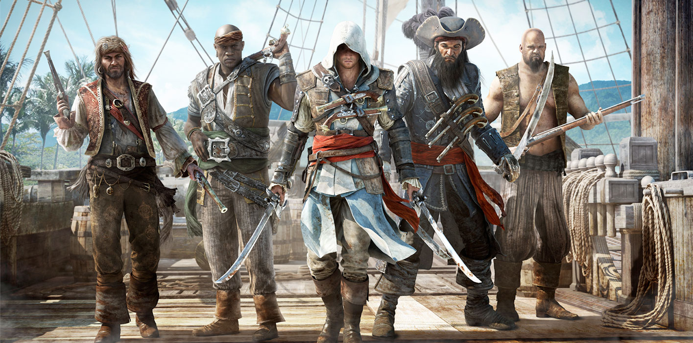 Test PS4 Assassasin's Creed 4: Black Flag
