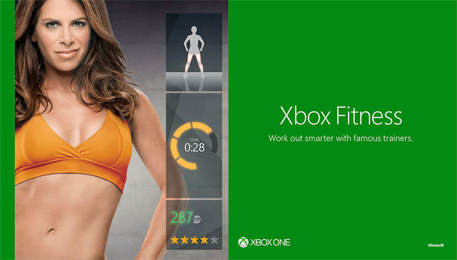 Kinect Xbox Fitness