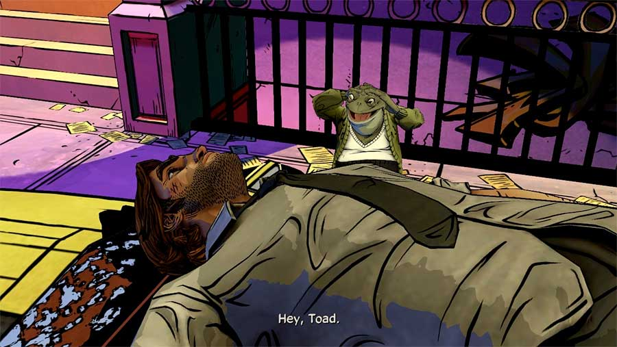 Telltale Games The Wolf Among Us