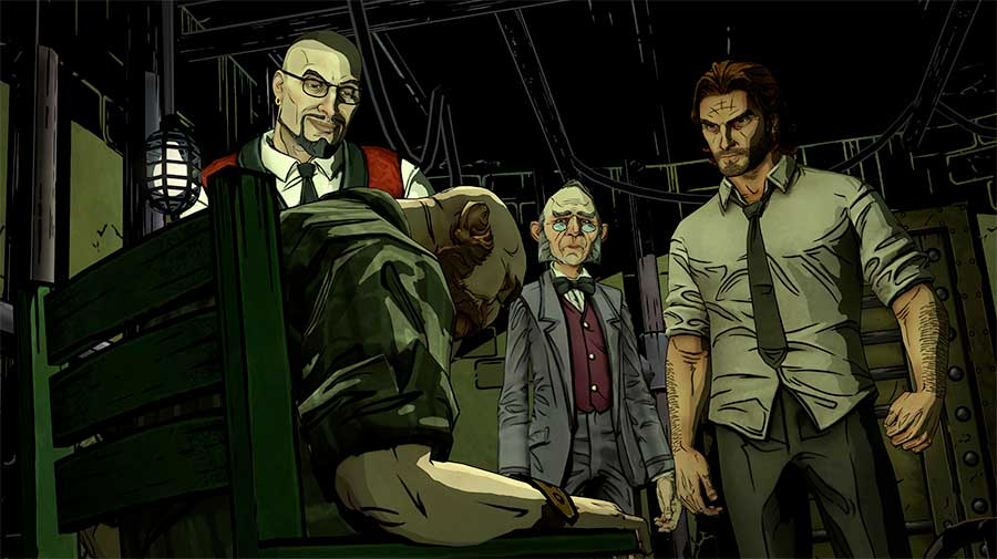 The Wolf Among Us episode 02