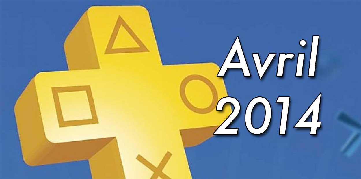 Jeux Gratuits PlayStation Plus Avril 2014