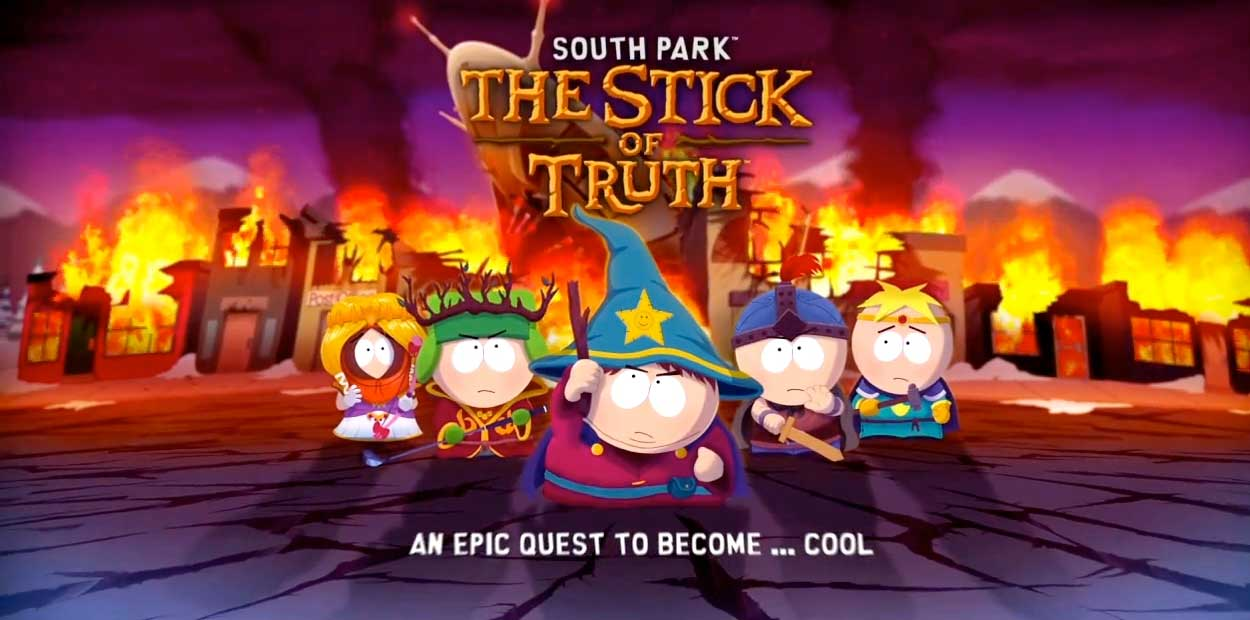 Test PS3 South Park The Stick of Truth