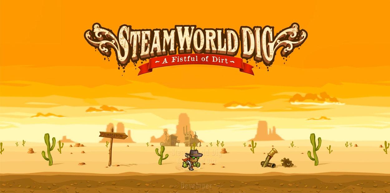 Test PS4 SteamWorld Dig