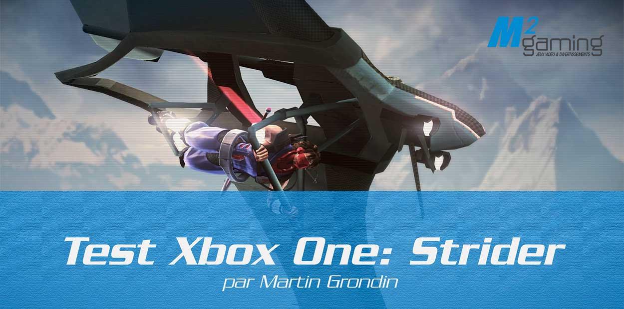 Test Xbox One: Strider