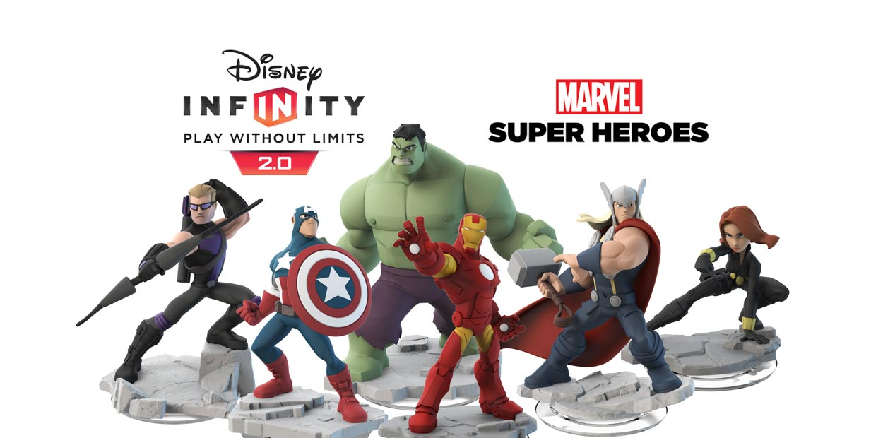 Marvel Super Heroes Disney Infinity 2