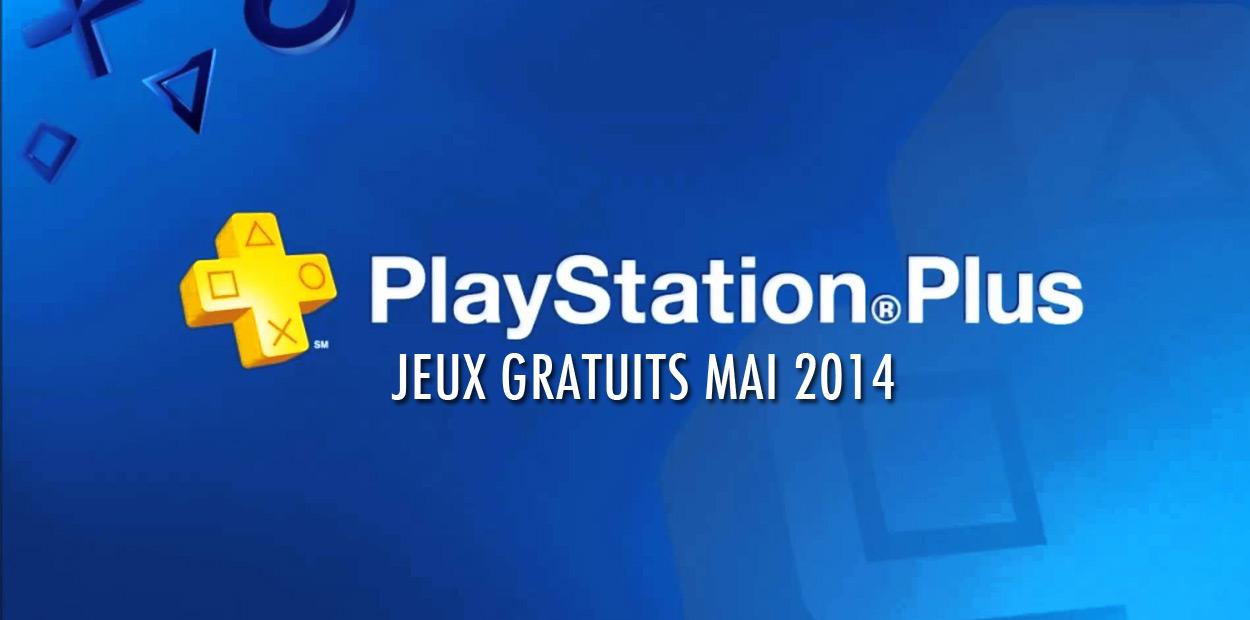 PlayStation Plus Mai 2014
