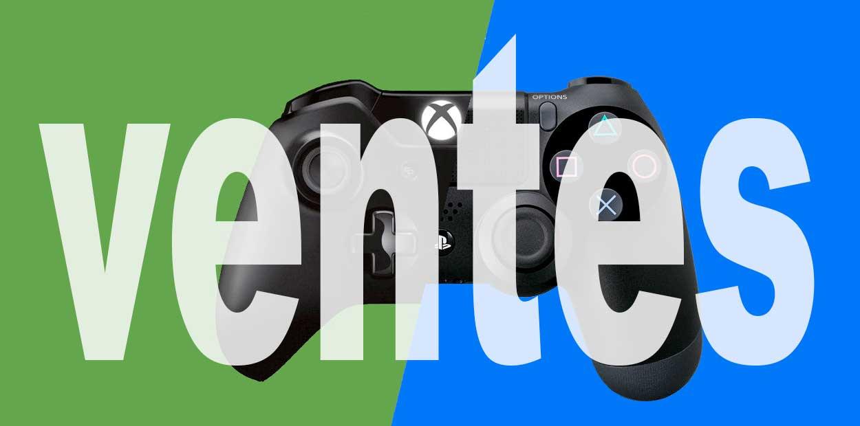 Statistique de vente PS4 et Xbox One