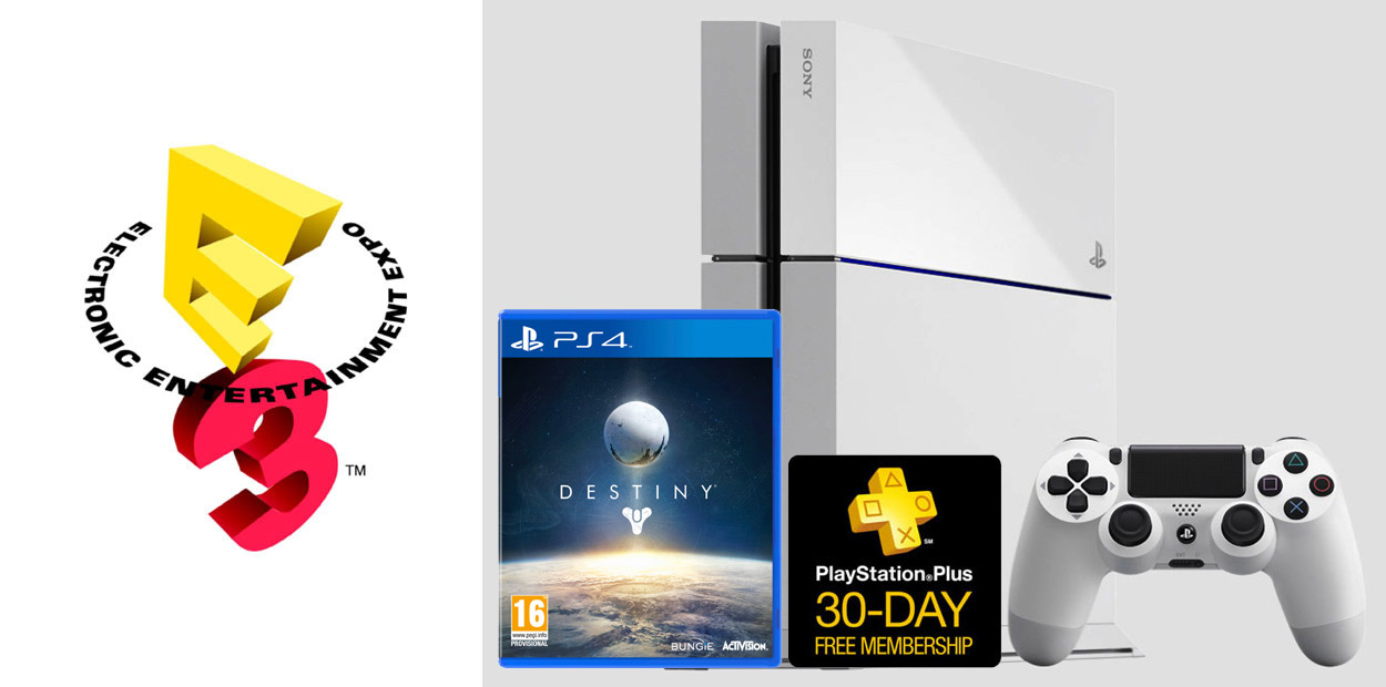 Ensemble PS4 Blanc Destiny