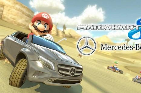 Mario Kart 8: les Mercedes y rouleront cet été !