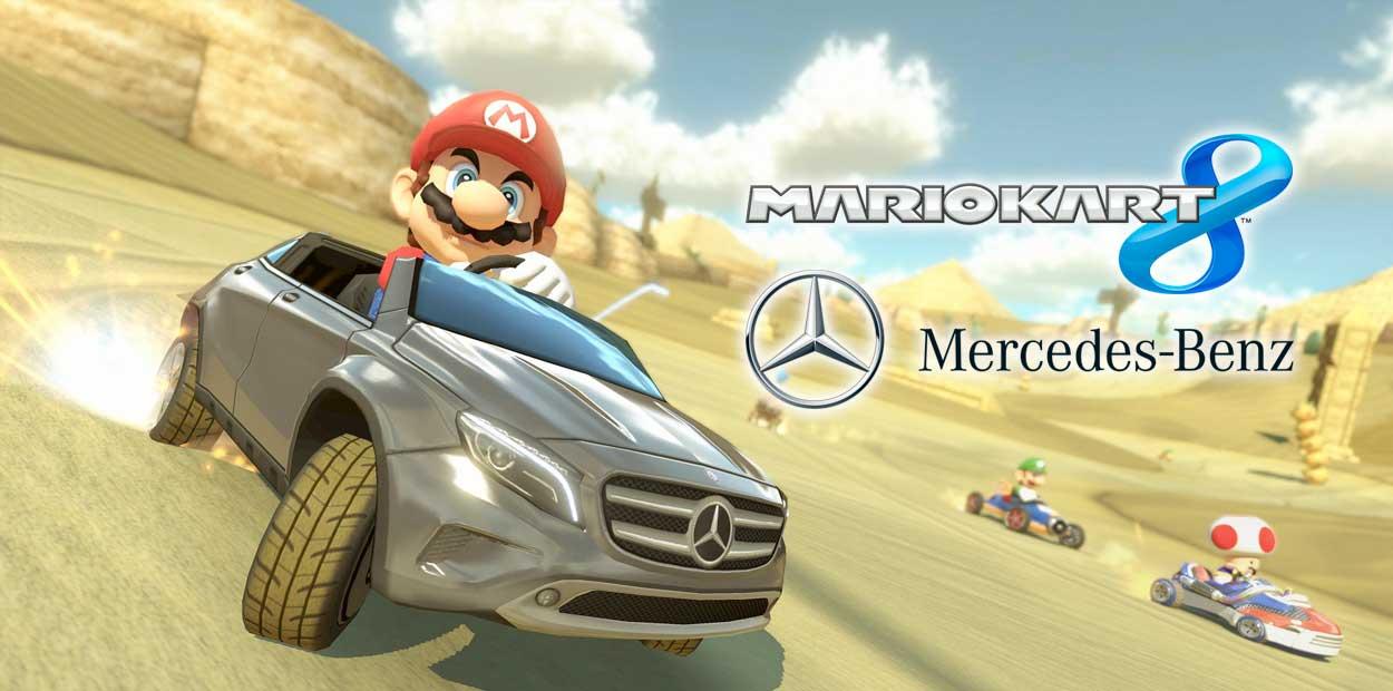 Mario Kart 8 Mercedez