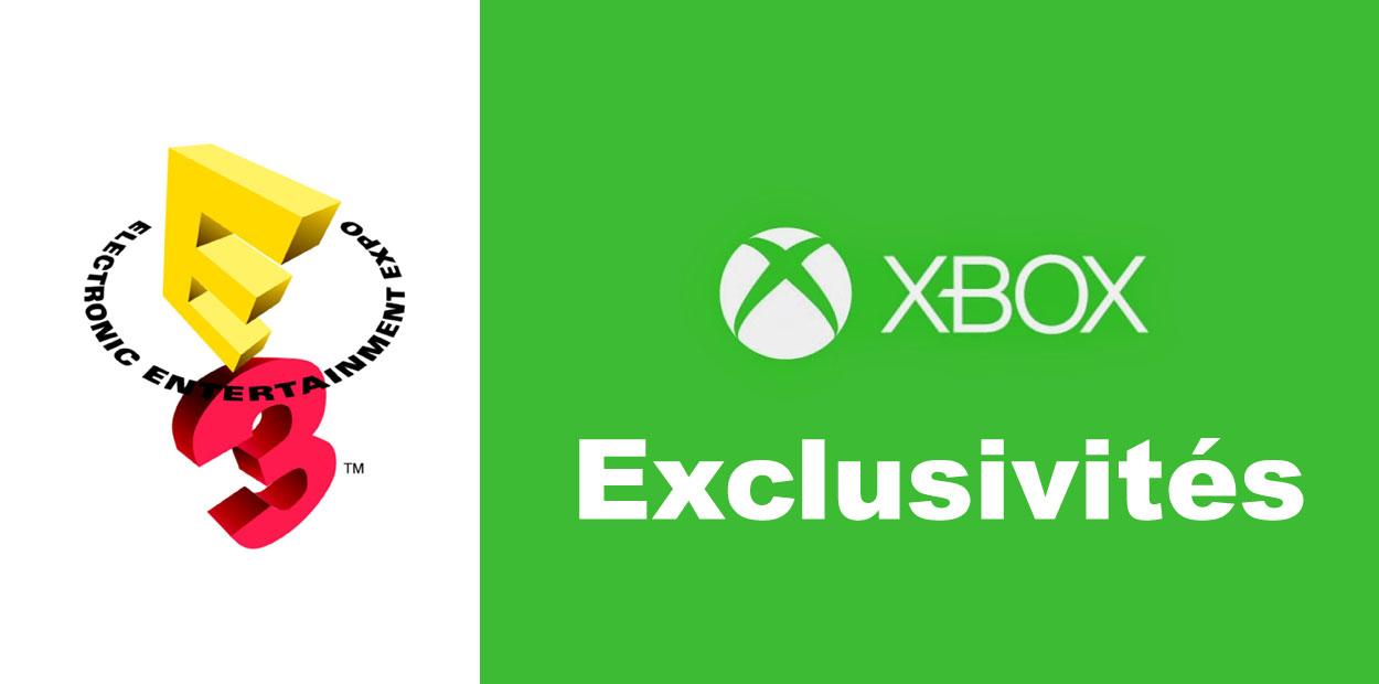 Microsoft E3 2014 Exclusivités
