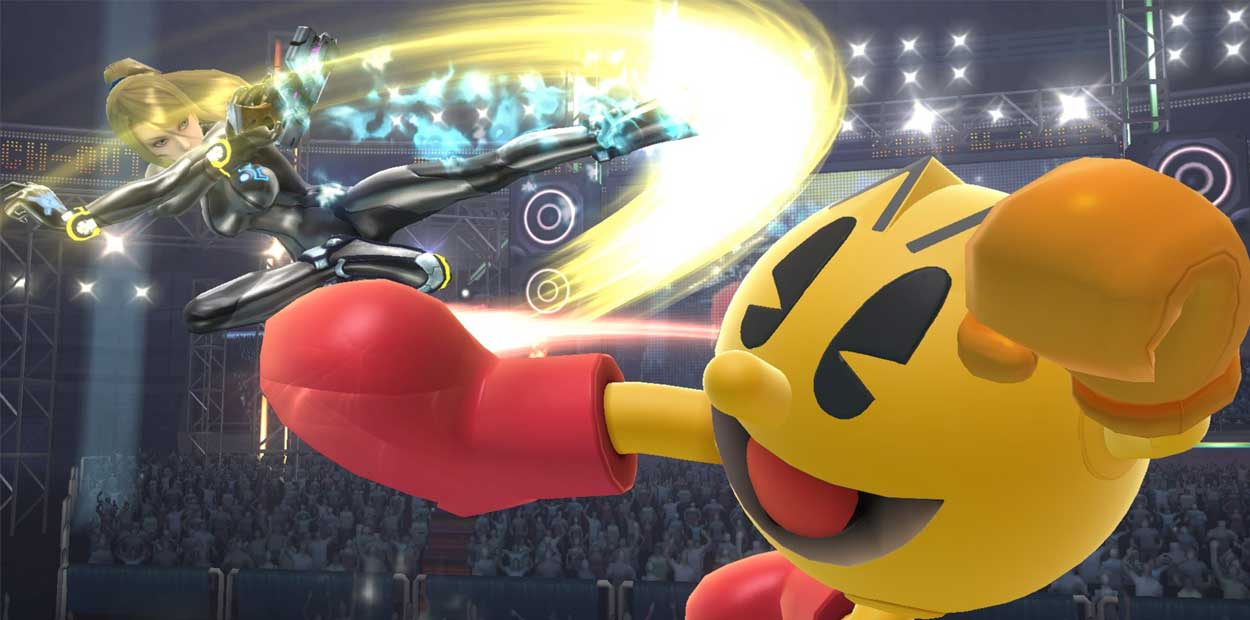 Pac-Man Smash Bros.