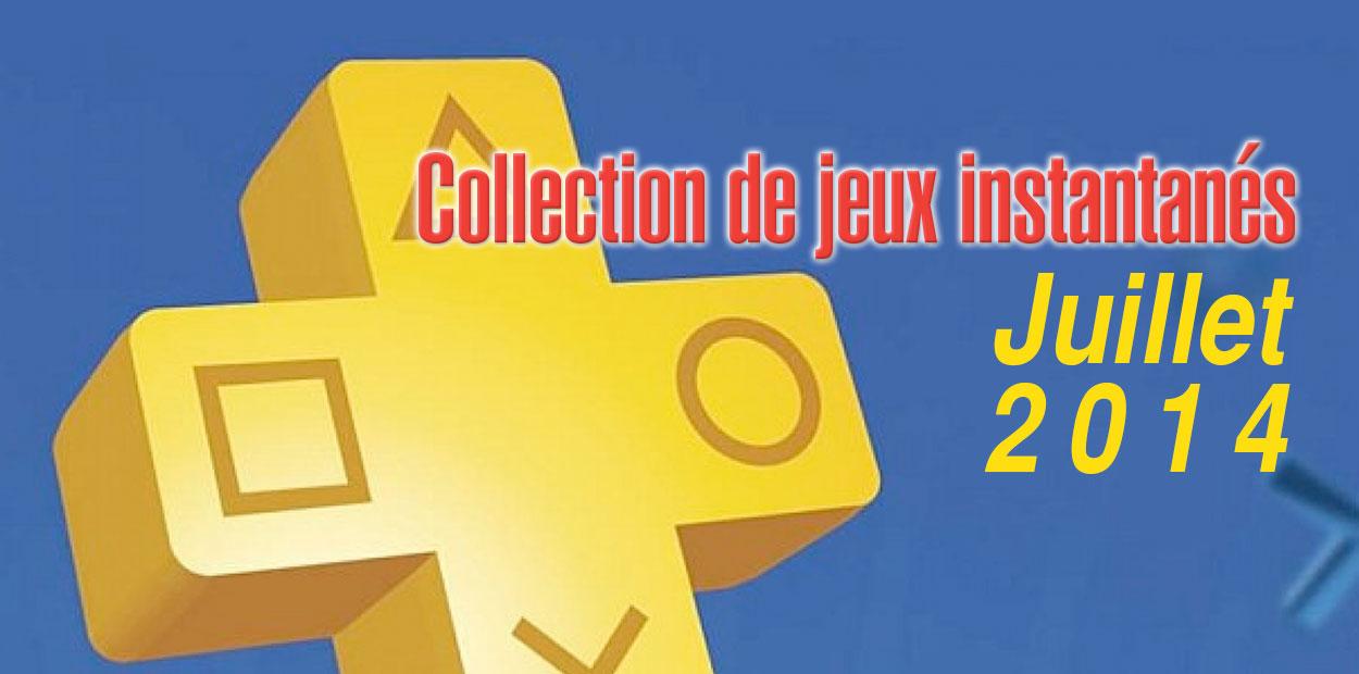 PlayStation Plus Juillet 2014
