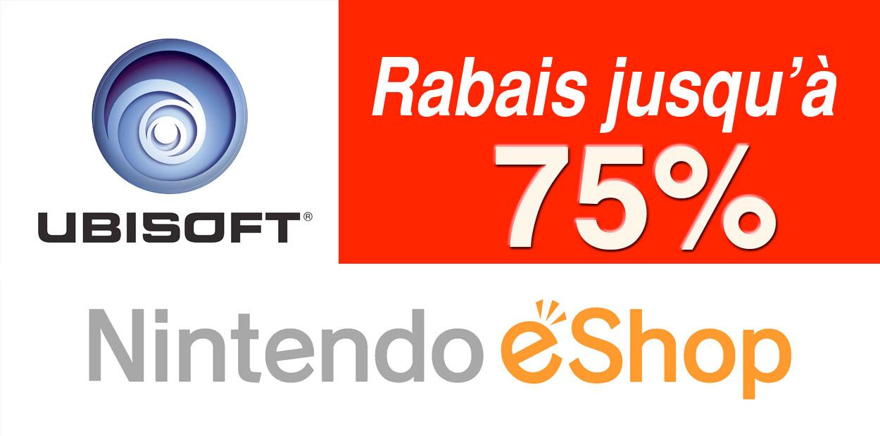 Rabais eShop UbiSoft