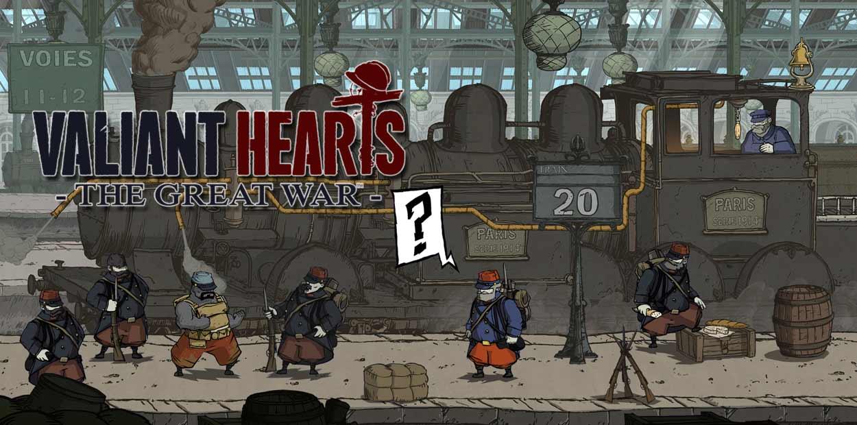 Valiant Hearts PS3 PS4