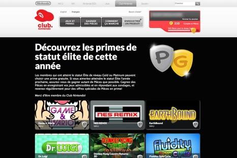 Club Nintendo | Récompenses digitales aux membres Or et Platine!