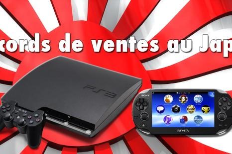 Nouveaux records de ventes pour la PS3 et la PS Vita au Japon