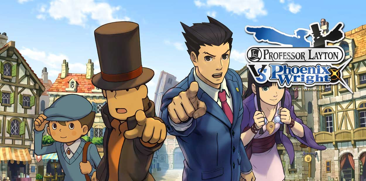 professeur layton vs phoenix wright ace attorney 3ds