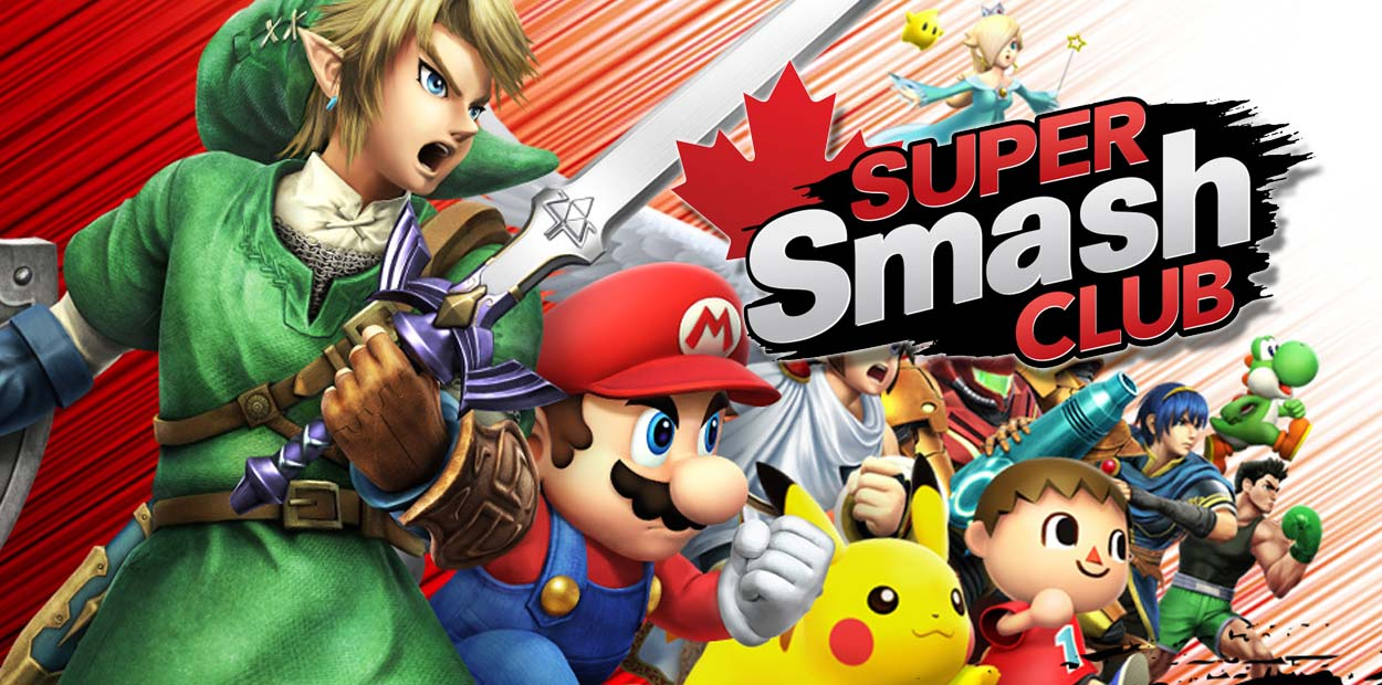 super smash club nintendo