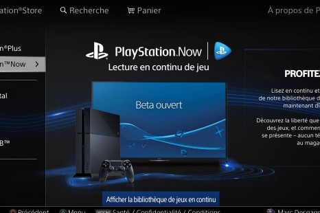 Test PS4 – PS3 | PlayStation Now