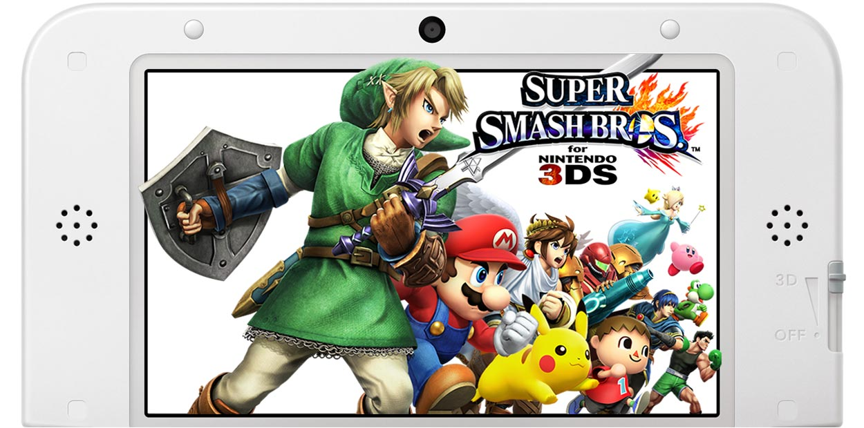 test nintendo 3ds super smash bros