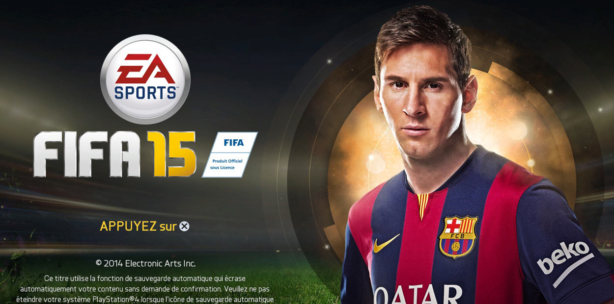 test ps4 fifa 15