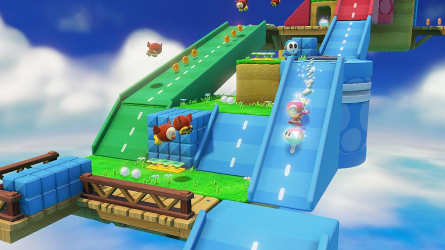 captain toad treasure tracker test wii u