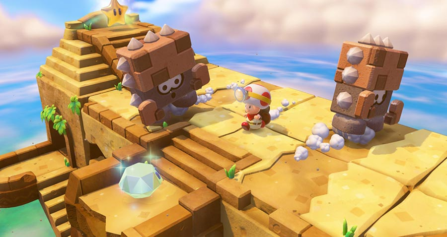 captain toad treasure tracker wii u test