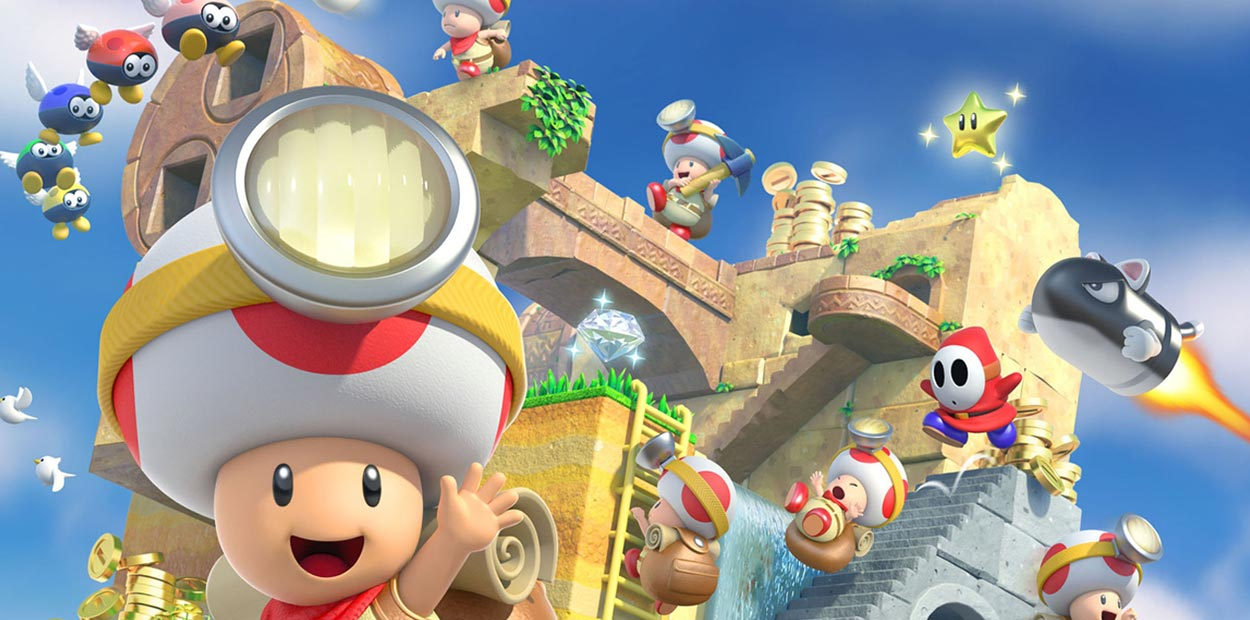 test wii u captain toad treasure tracker