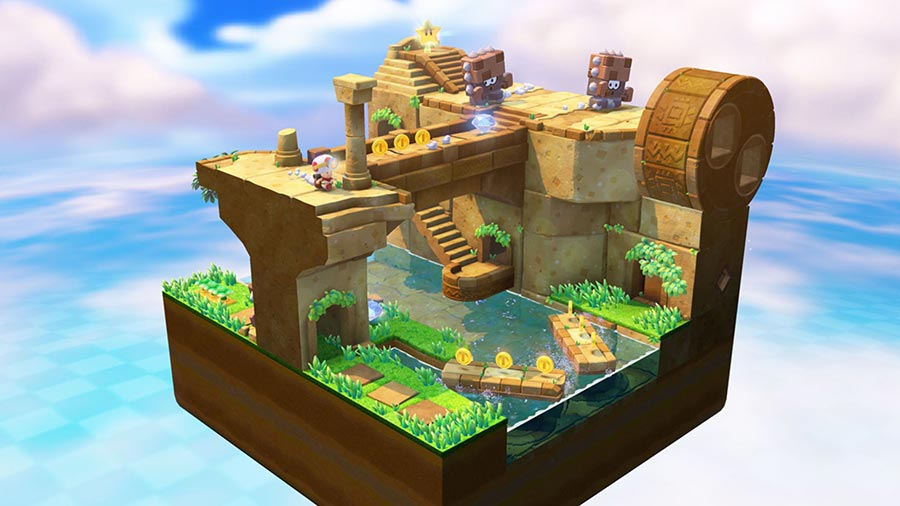 wii u test captain toad treasure tracker