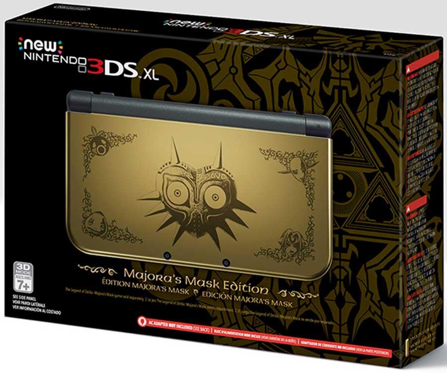 majoras mask nintendo new 3ds