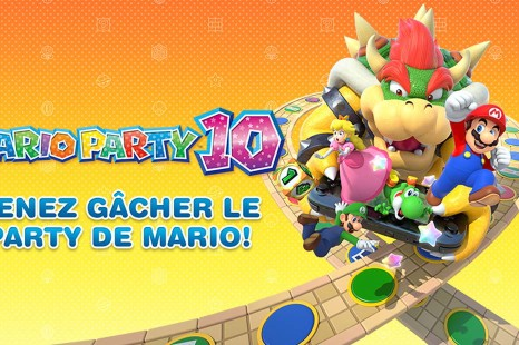 Venez fêter le décollage de Mario Party 10 au Cosmodôme de Laval !