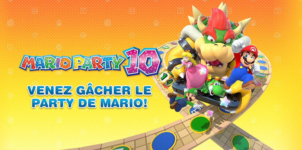 évènement mario party 10