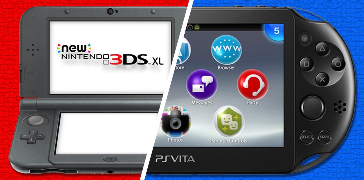 new nintendo 3ds vs sony ps vita