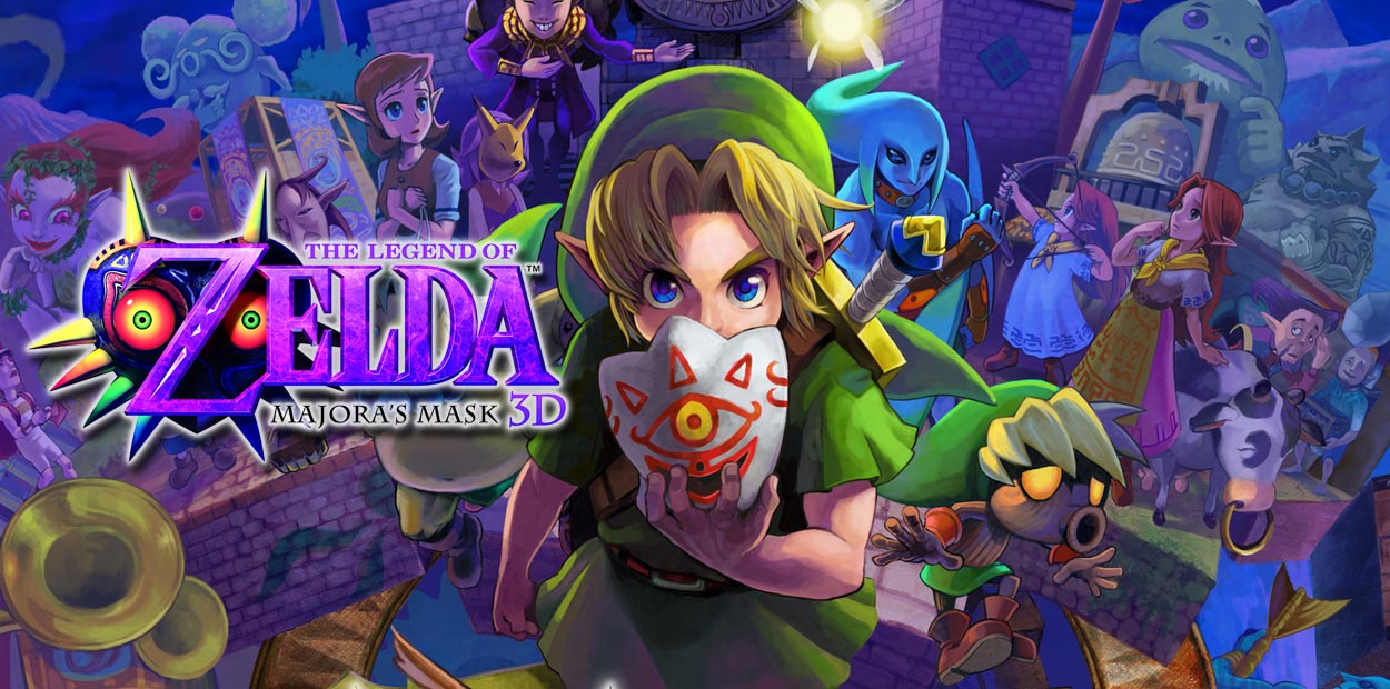 test 3ds the legend of zelda majoras mask