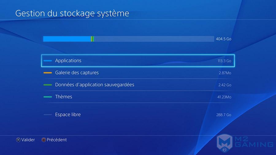 changer disque dur ps4 500go