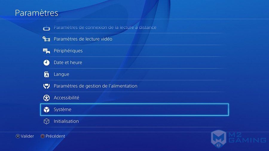 changer disque dur ps4 systeme
