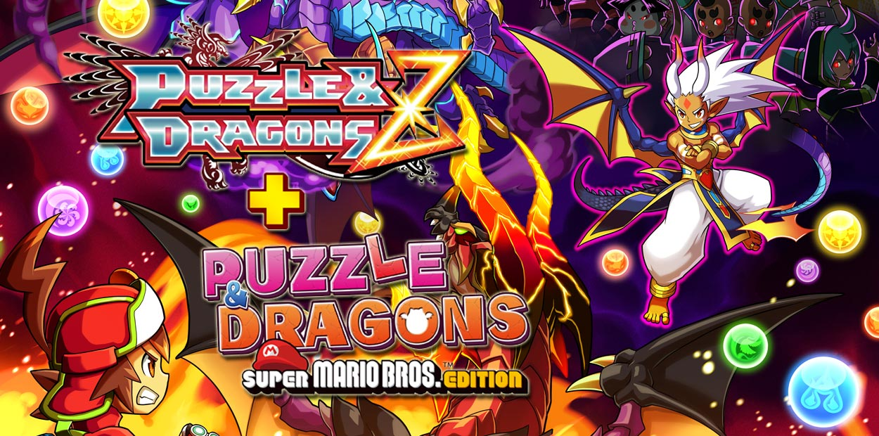 puzzle dragons z puzzle dragons super mario bros edition