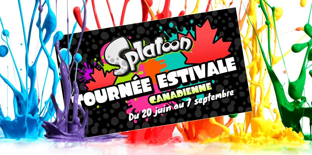 Splatoon tournée canadienne