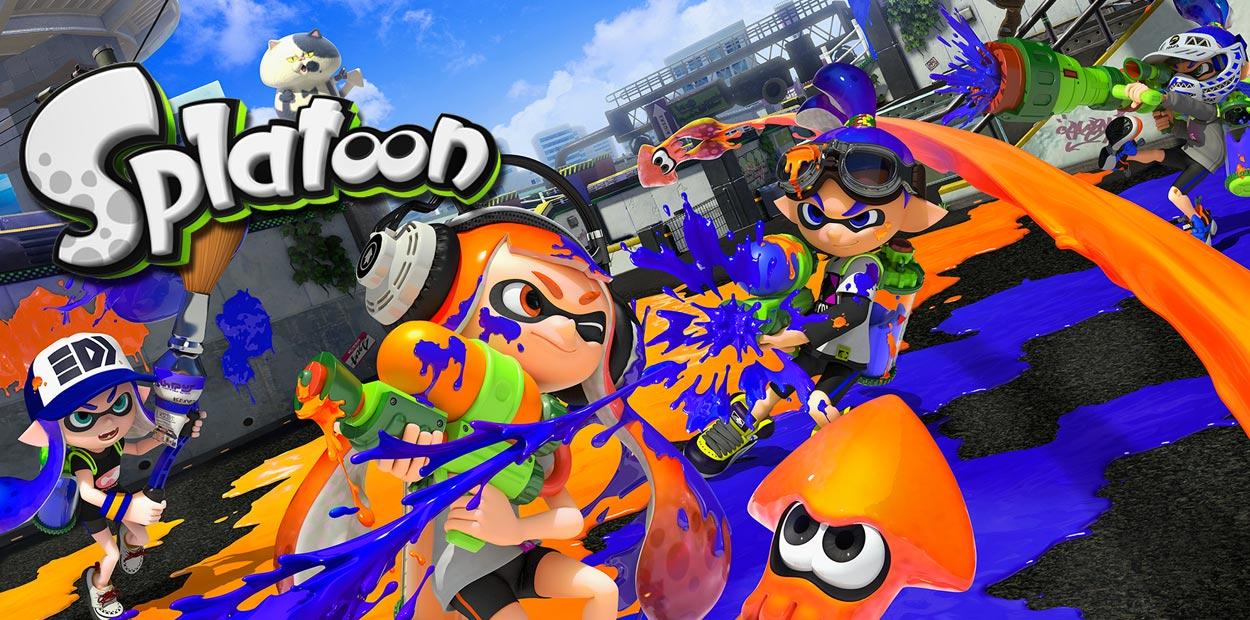 test wii u splatoon