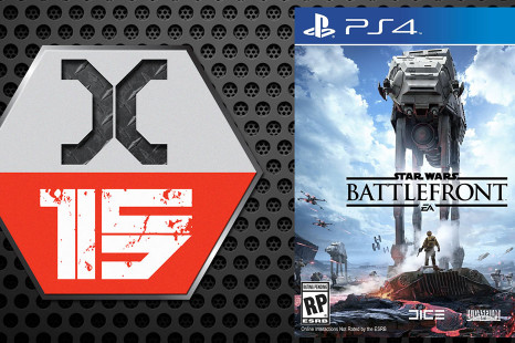 X-15 Star Wars Battlefront sur PS4