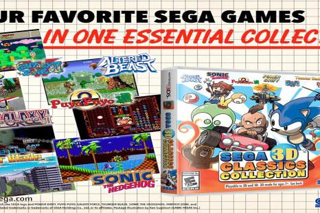Sega 3D Classics Collection annoncé