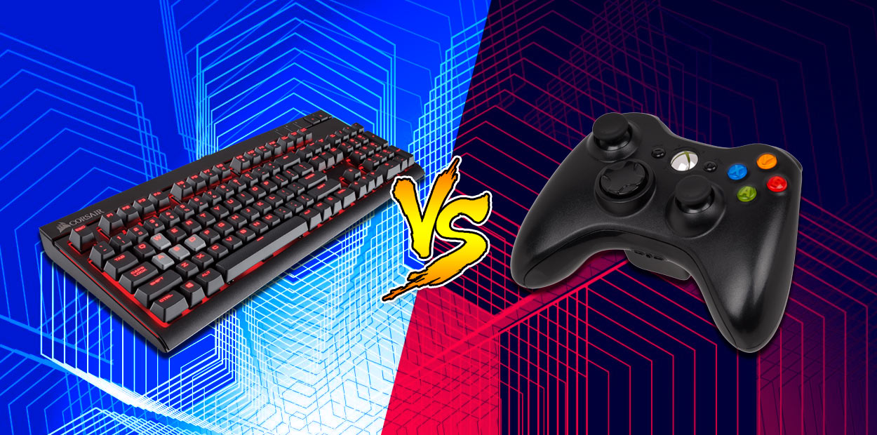 PC vs Console - Contrôle et convivialité
