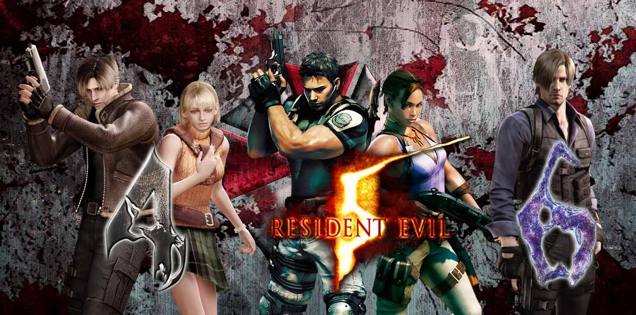 resident evil 4 5 6