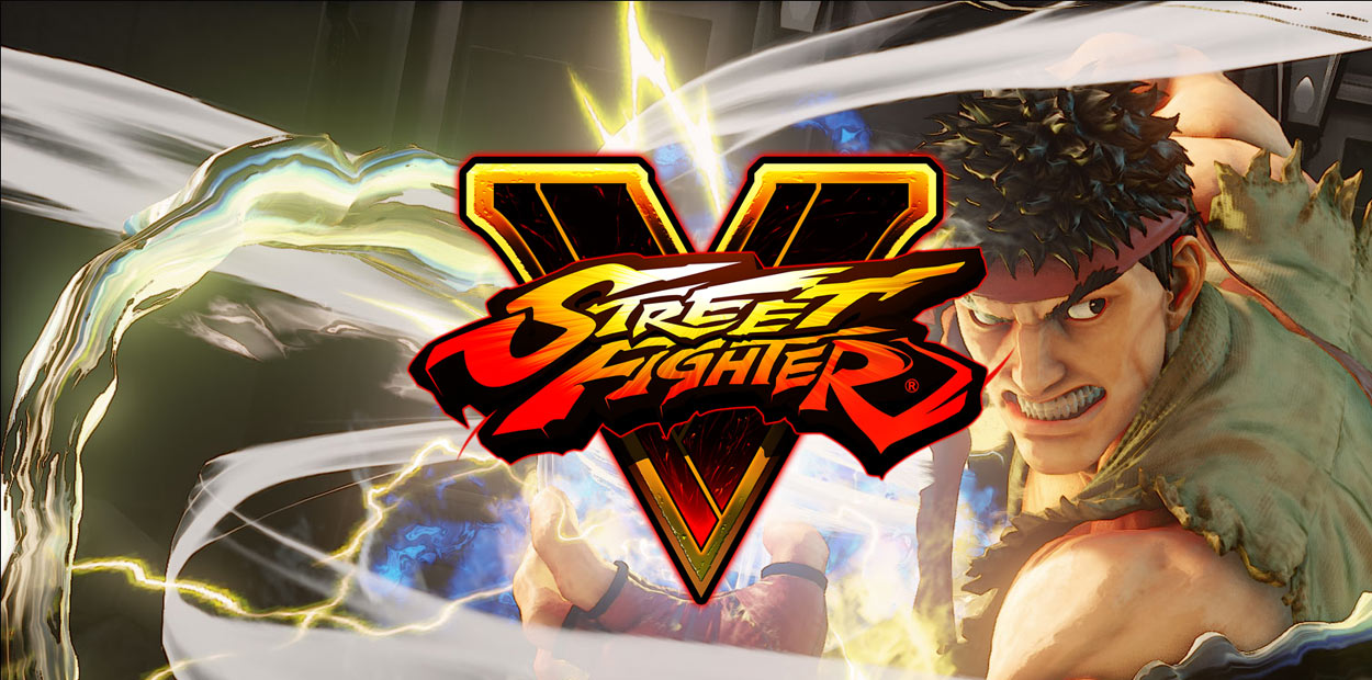 Test Street Fighter V PS4