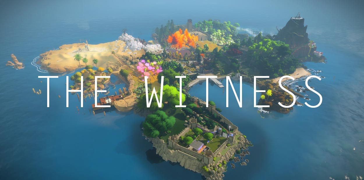 test ps4 the witness