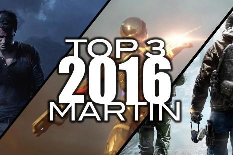 Top 3 des jeux les plus attendus de 2016 par Martin