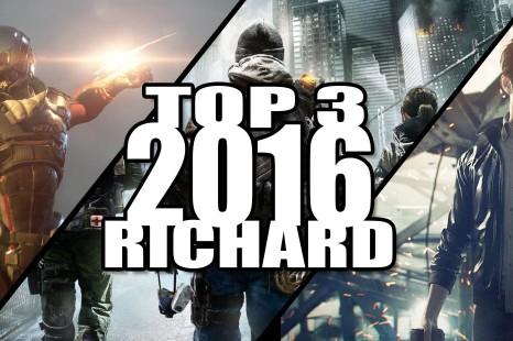 Top 3 des jeux les plus attendus de 2016 par Richard