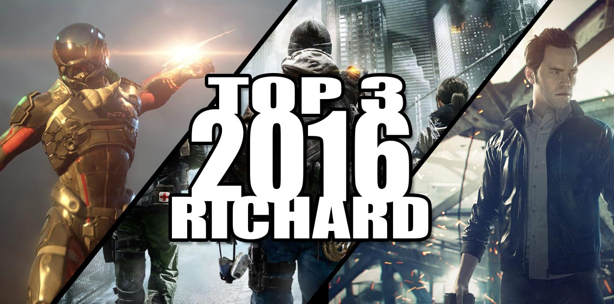 Top 3 2016 Richard