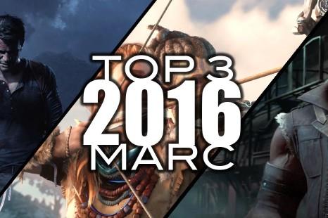 Top 3 des jeux les plus attendus de 2016 par Marc
